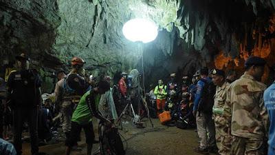 Thailandia: squadra di calcio giovanile rimasta intrappolata nella grotta