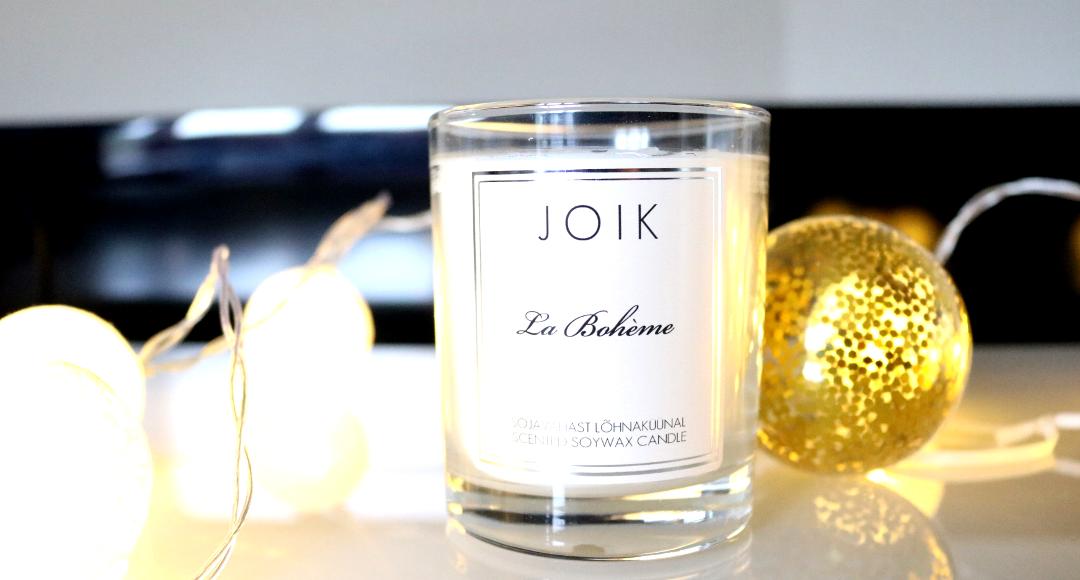 JOIK La Bohème Soy Wax Scented Candle