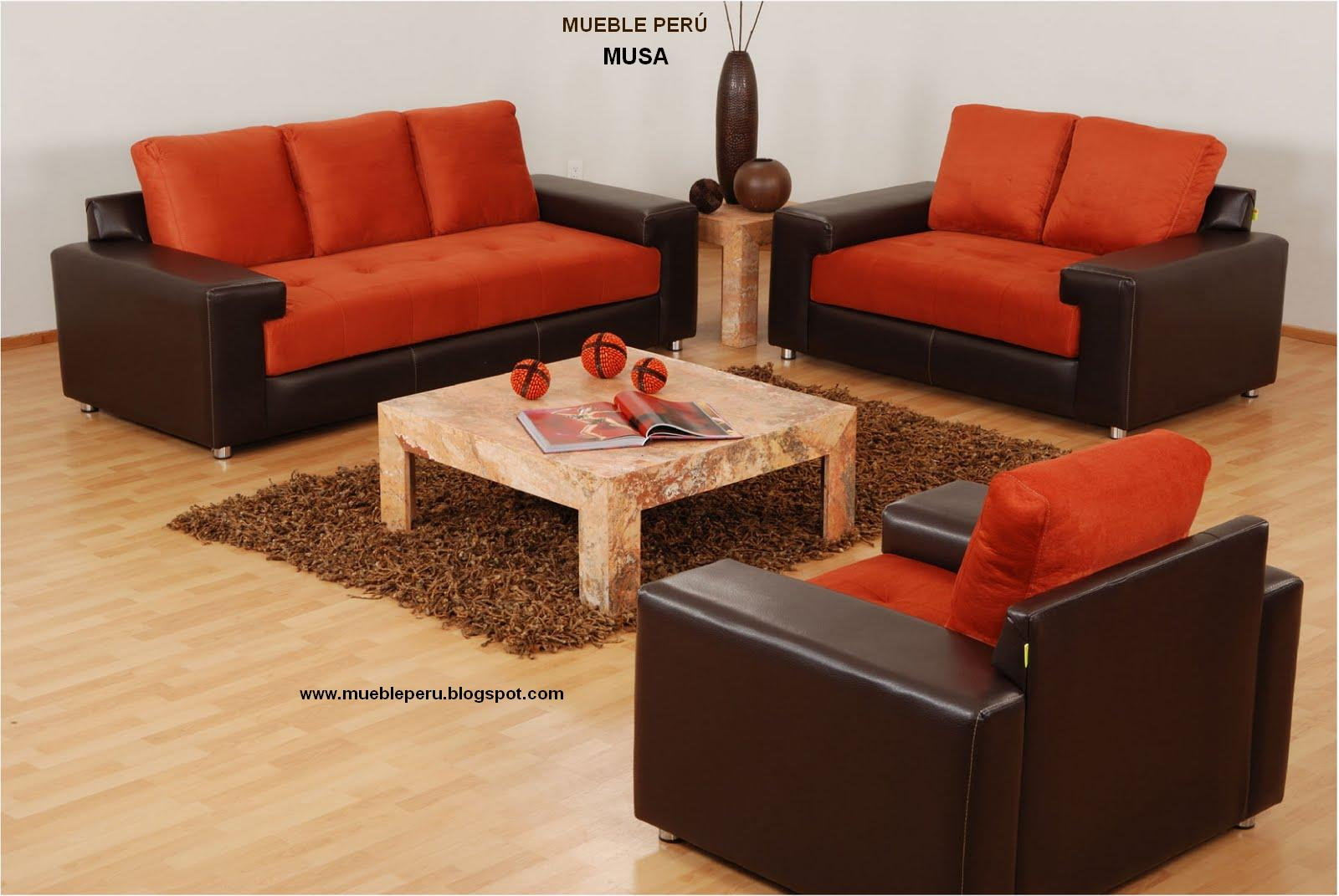 Muebles pegaso muebles en microfibra variedades for Muebles modernos de madera para sala