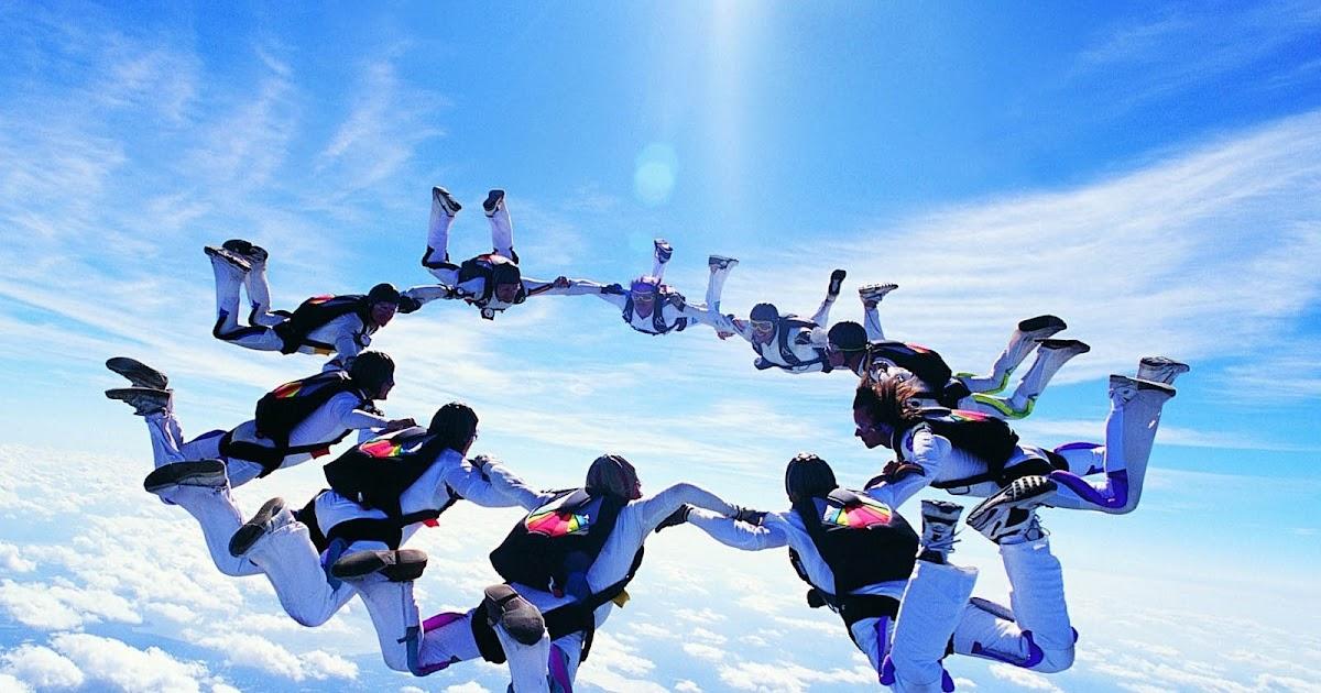 Free Download Wallpaper 3d Windows 7 Wallpapers Skydiving