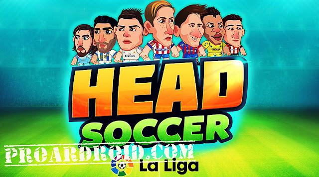 لعبة Head Soccer LaLiga 2019 v5.1.0 مهكرة كاملة للاندرويد (اخر اصدار) logo