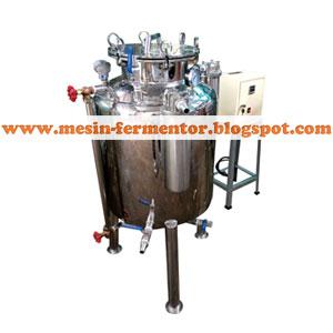 mesin fermentor kapasitas 150 liter