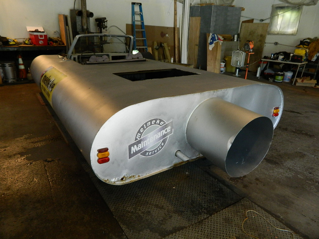Daily Turismo: Silence of the Cans: 1980 Dodge Ram D50 Based Muffler Car