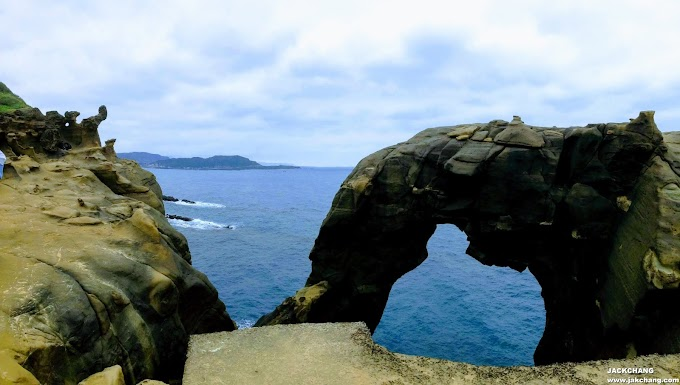 Ruifang,NewTaipei-Shen'ao Cape(Elephant Trunk Rock)and Fanzi Ao Emirates Rock Park