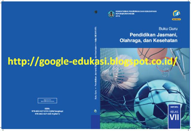 Buku Guru dan Siswa Mapel PJOK SMP Kelas 7 Kurikulum 2013 Revisi