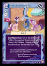 My Little Pony The Old Switcheroo Absolute Discord CCG Card