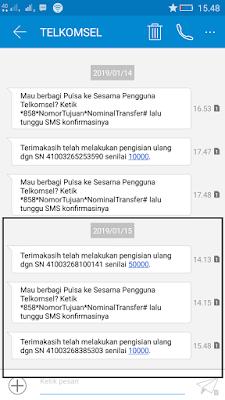 Bukti Pembayaran Pulsa Gratis Terbaru dari Aplikasi Akulaku Android