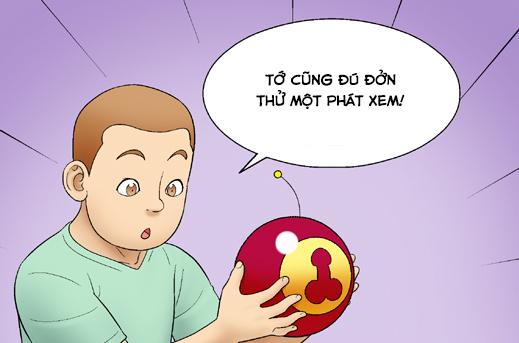 Kim Chi & Củ Cải (bộ mới) phần 25: Hình dạng 'cái ấy'