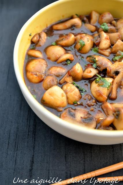 champignon cuisine chinoise Ken Hom