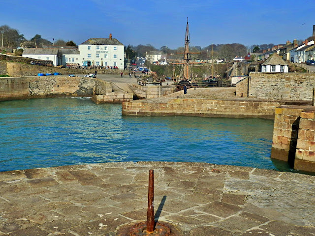 Charlestown harbour, Cornwall - Poldark country