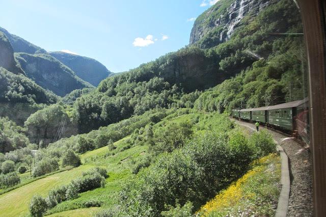 Noorwegen treinFlam