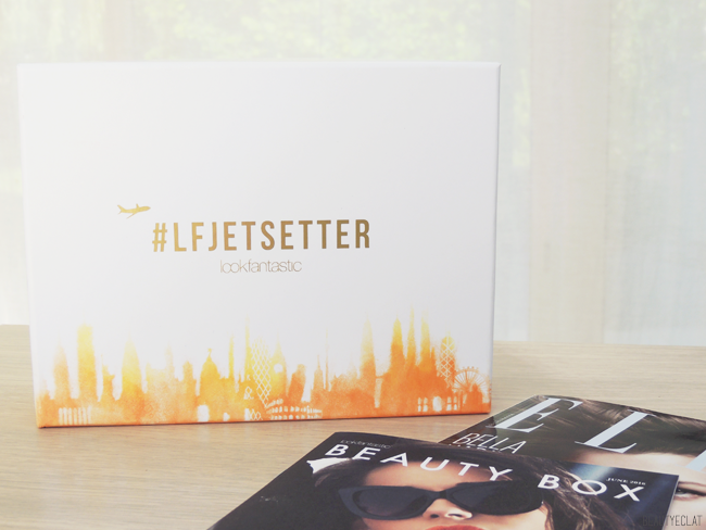 Lookfantastic Beauty Box Jet Setter Edition