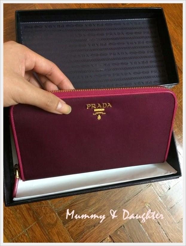 3b80c8ca4c93 ... cheapest new prada fuoco saffiano wallet 25c76 7b36d