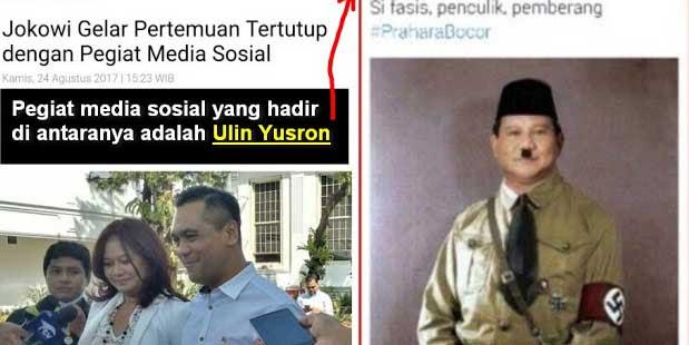 Jokowi Gelar Pertemuan Tertutup Pegiat Media Sosial, Undang Juga Penghina Prabowo