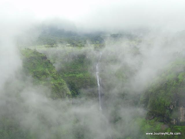 Ahupe Waterfall & Dimbhe Dam Backwaters near Bhimashankar