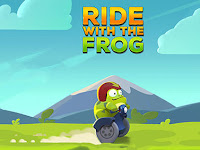 Download Game Ride with the frog MOD v1.0 Apk (Unlimited Coint gold) Terbaru 2016