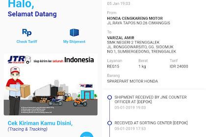 Update JNE Mobile, Kini Lebih Fresh dan Bersahabat