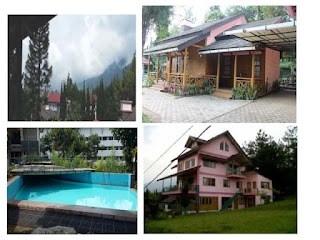 villa murah lembang bandung dengan fasilitas kolam renang