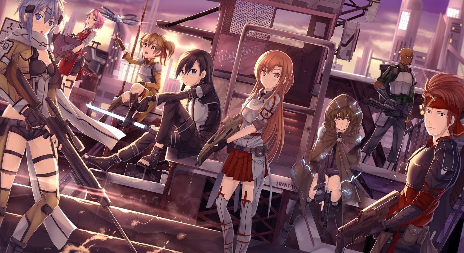 Sword Art Online : Gun Gale Online (GGO)