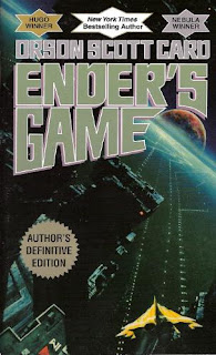 Ender's Game by Orson Scott Card - book cover