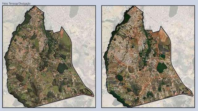 Imagens áreas comprovam que ano eleitoral estimula a atuação de grileiros no DF