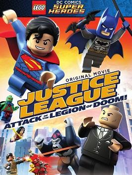 LEGO Liga da Justiça - O Ataque da Legião do Mal - Dublado