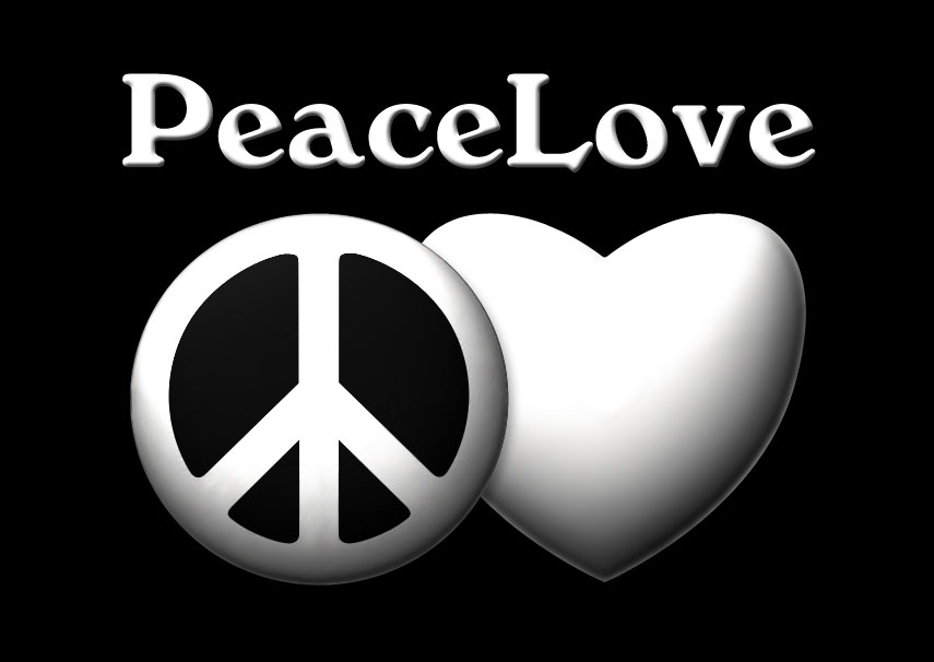 Quote About Peace And Love Endearing Peace And Love Quotes  Best Quotes And Sayings