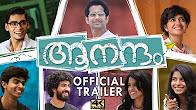 Watch Aanandam 2016 Malayalam Movie Trailer Youtube HD Watch Online Free Download