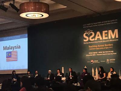 Peluang mewakili Malaysia untuk membentangkan best practises di Seminar SSAEM 2016, Seoul Korea