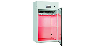 plant growth chamber environmental chamber with red LED lighting
