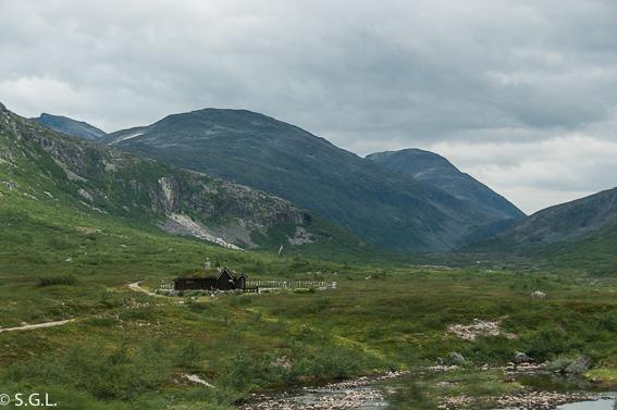 Vistas carretera Geiranger Trollstigen. Noruega