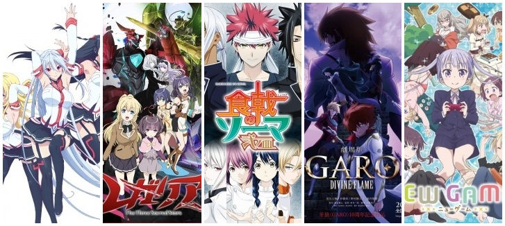 Preview Anime Yang Rilis 28 Maret - 3 April 2016