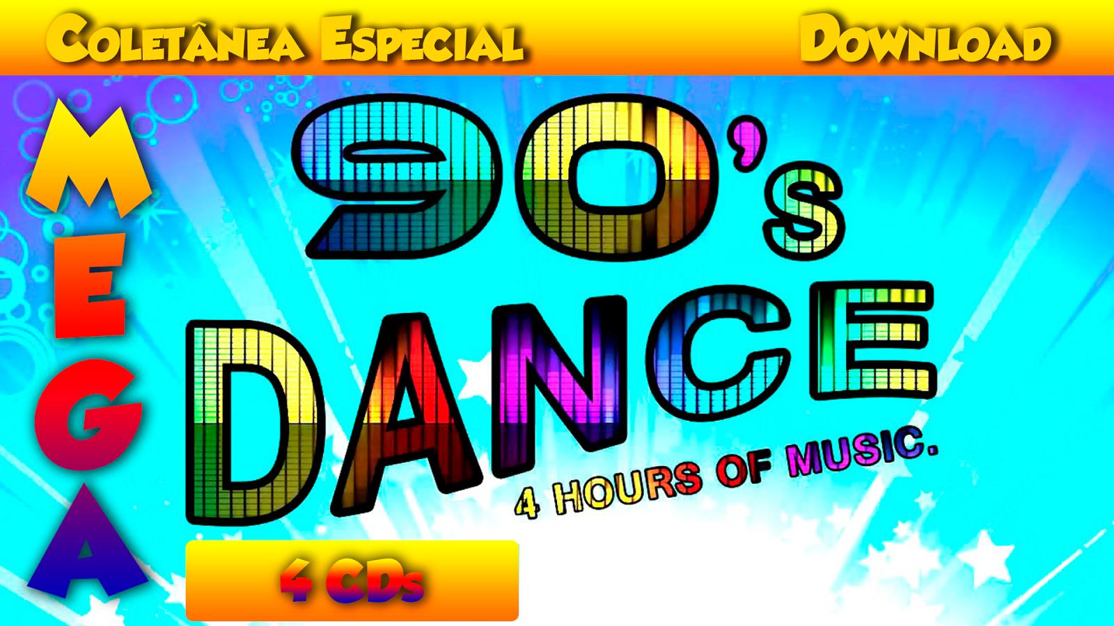 BAIXAR - 4 CDs COLETÂNEA MEGA DANCE ANOS 90 ~ SIDNEY MUSIC