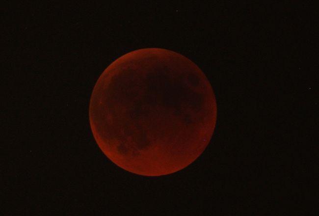 Gambar Gerhana Bulan JUN 2011