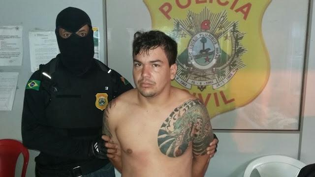 Policia Civil prende suspeito de chefia facção criminosa em Cruzeiro do Sul