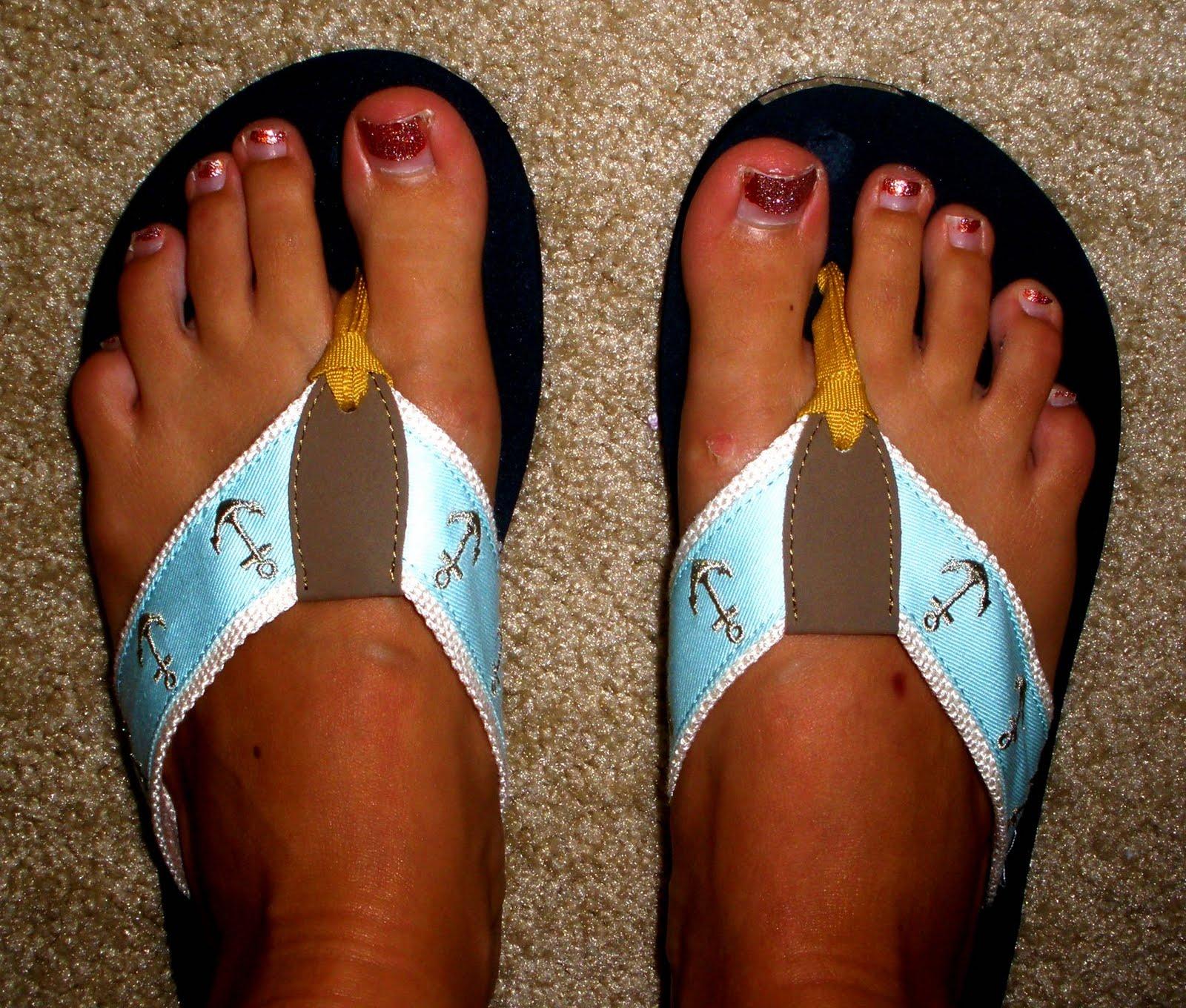 Miss J Bay Flip Flops