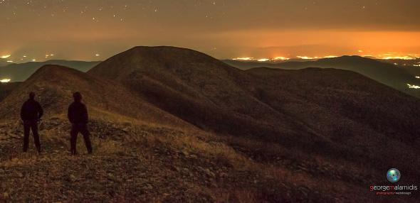 Θεσπρωτία: Αξέχαστη εμπειρία - Τραγούδια αντιλάλησαν τη νύχτα στην κορυφή της Μουργκάνας