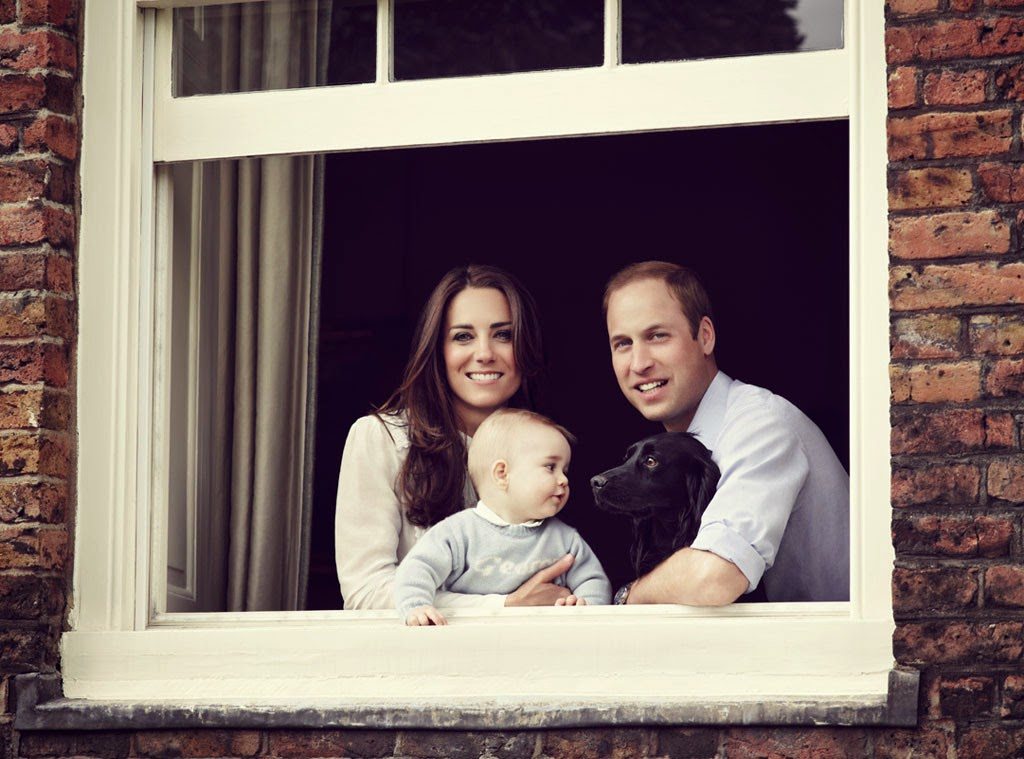 Prince William Family Photo released featuring Prince George