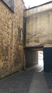 A courtyard
