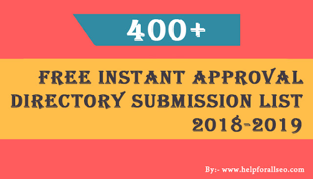 500+ Free USA Directories Submission Sites List with High PR