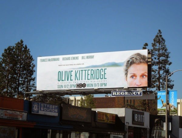Olive Kitteridge HBO miniseries billboard