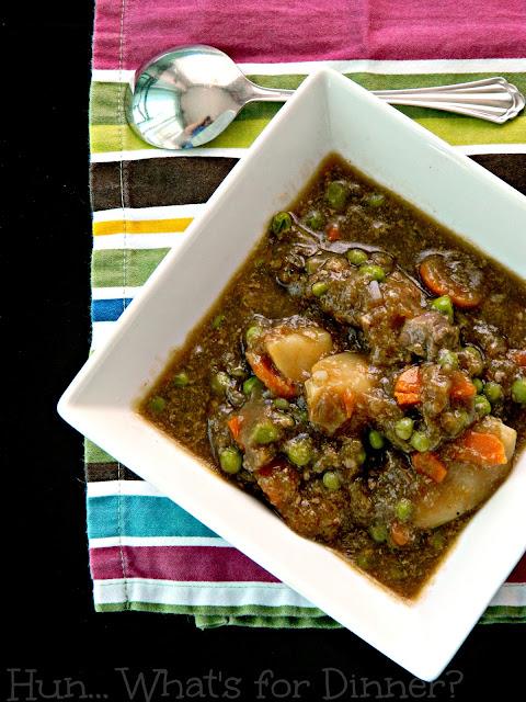 Crock Pot Moose Stew, Crock Pot Beef Stew