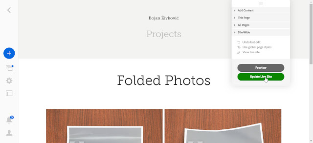 customize%2Band%2Bupdate%2Blive%2Bsite How to Publish Adobe Stock Collection to Adobe Portfolio templates