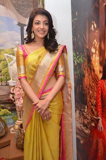 kajal agarwal at Trisha Designer store