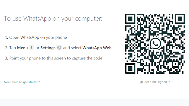 scan barcode untuk login ke whatsapp di pc