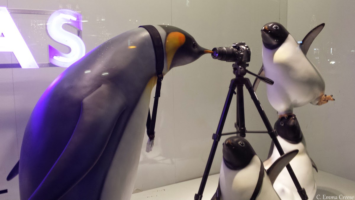 Monty the Penguin - John Lewis Christmas - Adventures of a London Kiwi