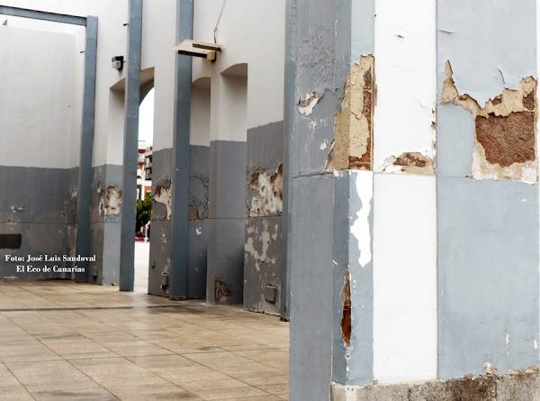 Zonas de Santa Catalina deterioradas, Las Palmas de Gran Canaria