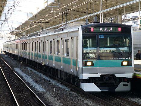 東京メトロ千代田線 表参道行き JR東日本E233系2000番台