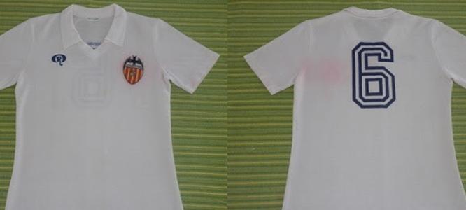 camisetas de futbol Valencia CF manga larga