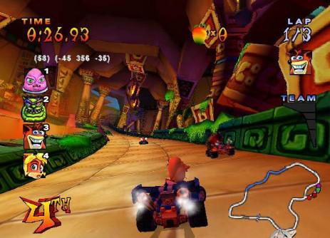 تحميل لعبة كراش crash team racing للكمبيوتر مجانا برابط واحد مباشر